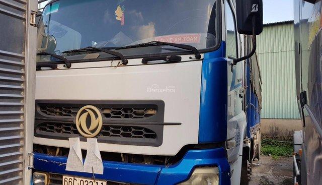 VPbank thanh lý xe Dongfeng 3 chân đời 2015, màu trắng, giá chỉ 322 triệu khởi điểm