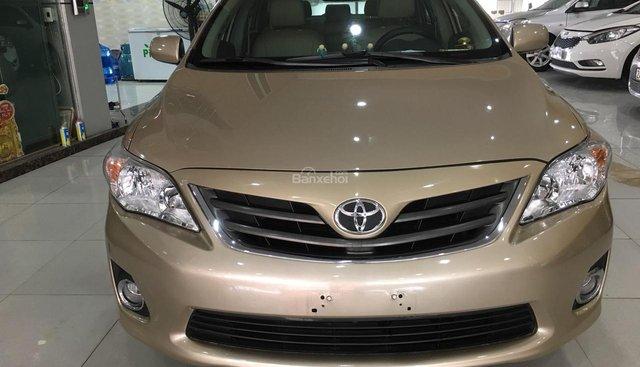 Bán Toyota Corolla đời 2010, màu vàng, nhập khẩu nguyên chiếc số tự động, 515tr