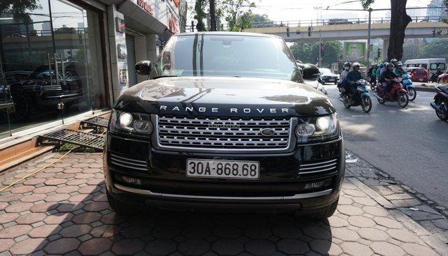Cần bán xe LandRover Range Rover Autobio LWB 5.0 sản xuất năm 2013, màu đen, nhập khẩu