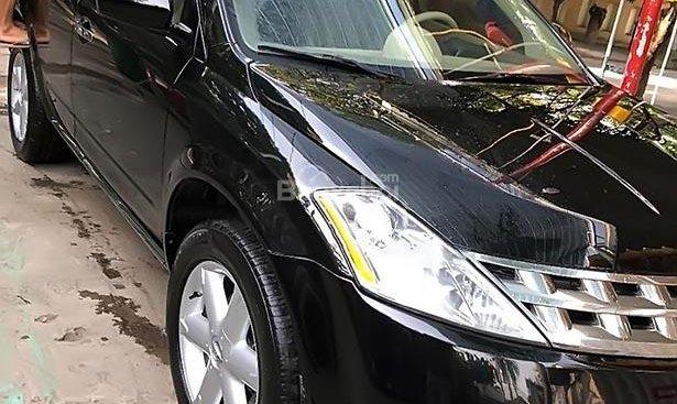 Cần bán Nissan Murano đời 2008, màu đen, nhập khẩu nguyên chiếc