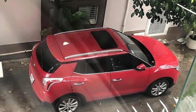 Bán Ssangyong TiVoLi 2016, màu đỏ, nhập khẩu nguyên chiếc còn mới giá cạnh tranh