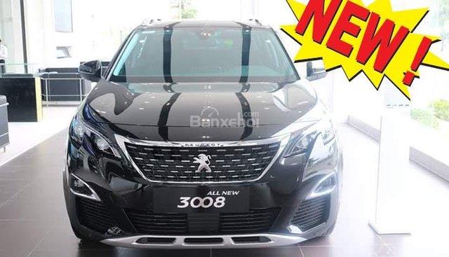 Xe giao liền SUV 5 chỗ Peugeot 3008 1.6L turbo New 2019, Màu đen - KM hấp dẫn rất bất ngờ, LH 0909076622