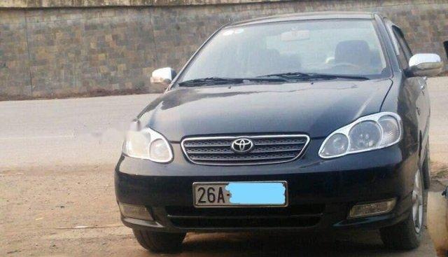 Cần bán Toyota Corolla năm 2003, màu đen
