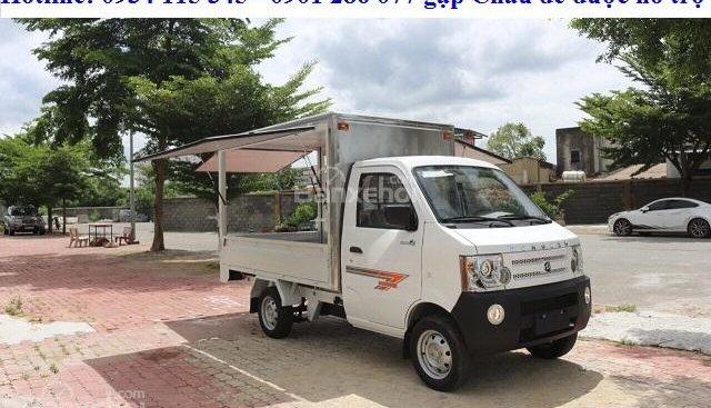 Thông số xe tải Dongben thùng cánh dơi 770kg, giá rẻ nhất Việt Nam, trả góp 70%, thủ tục đơn giản