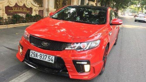 Cần bán xe Kia Koup sản xuất năm 2010, màu đỏ, giá chỉ 425 triệu