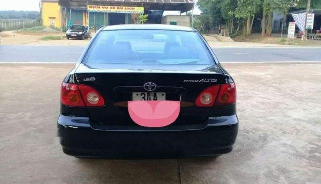 Cần bán xe Toyota Corolla altis sản xuất 2003, màu đen, 172tr