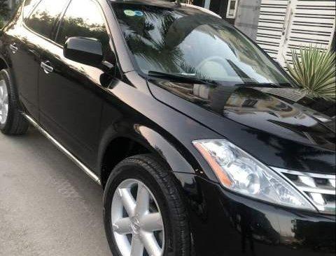 Xe Nissan Murano AT 2008, màu đen, nhập khẩu