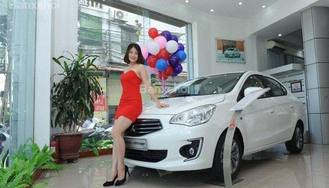 """""""Siêu đẳng"""" Mitsubishi Attrage, trả góp 90% xe, siêu rẻ tháng 06, LH Lê Nguyệt: 0988.799.330 - 0911.477.123"""