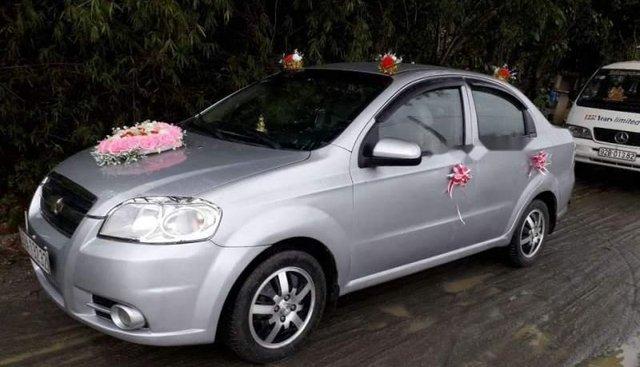 Cần bán lại xe Chevrolet Aveo MT sản xuất 2012, màu bạc, nhập khẩu nguyên chiếc, giá chỉ 235 triệu