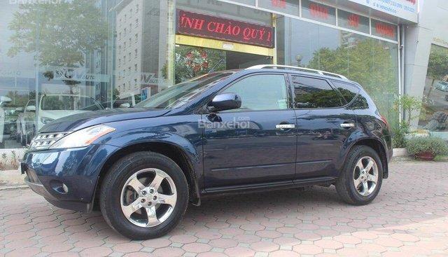 VOV Auto cần bán Nissan Murano 3.5 V6 sản xuất 2003, màu xanh lam, nhập khẩu