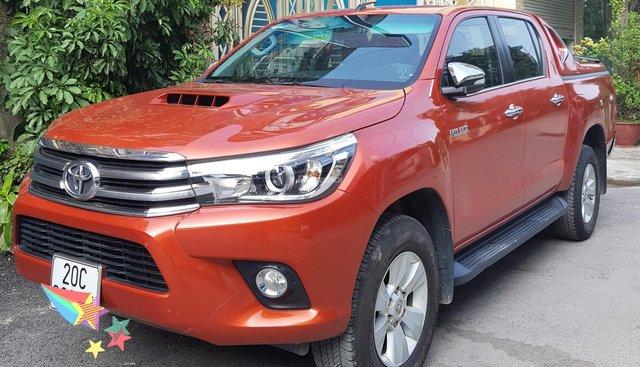 Bán Toyota Hilux 3.0G 4x4 AT đời 2016, màu đỏ, nhập khẩu nguyên chiếc