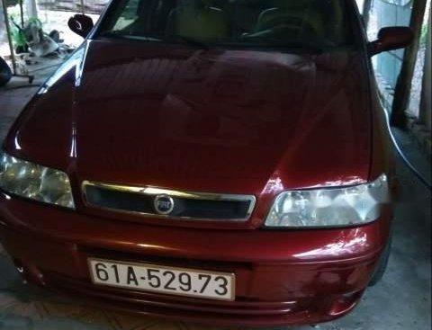 Cần bán xe Fiat Albea đời 2004, màu đỏ
