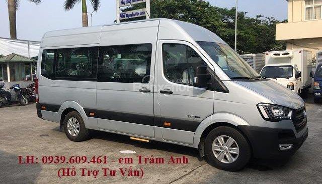 Solati - Hyundai 16 chỗ, tặng ngay 30 triệu đồng, chi tiết giá xe lăng bánh Solati 16 chỗ
