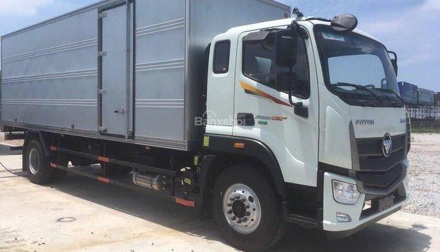 Bán ô tô Thaco Auman C160E4, thùng kín đời 2018