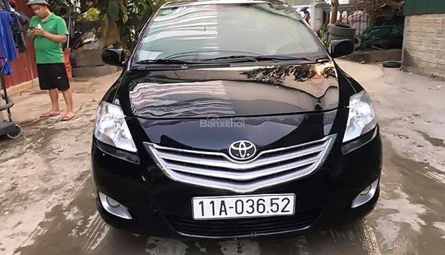 Cần bán Toyota Vios đời 2009, màu đen chính chủ giá cạnh tranh