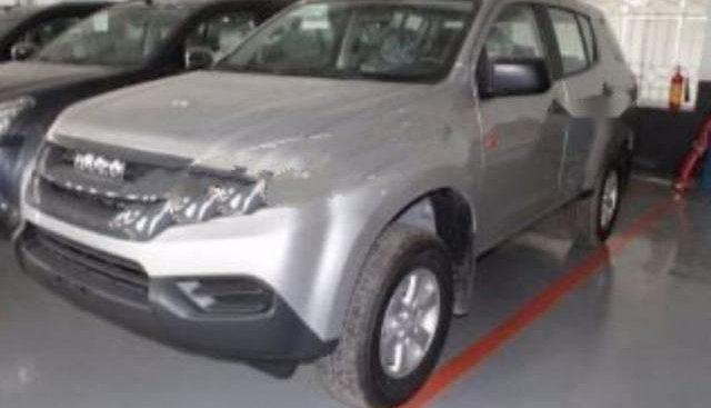 Bán Isuzu mu-X 2.5 4X2 MT sản xuất năm 2016, màu bạc, nhập khẩu