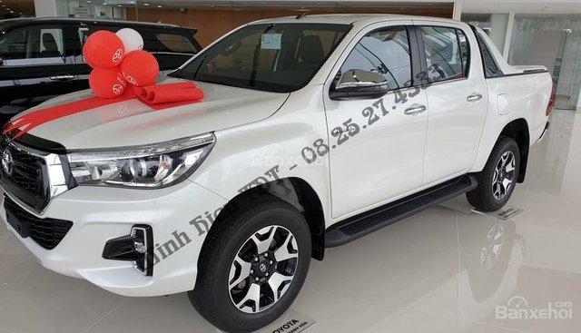 Bán Toyota Hilux G sản xuất năm 2018, màu trắng, nhập khẩu, giá 878tr