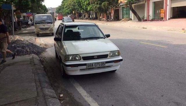 Bán ô tô Kia CD5 đời 2001, màu trắng, giá 70tr