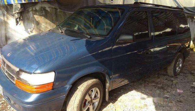 Bán lại xe Dodge Caravan sản xuất năm 1993, màu xanh lam, nhập khẩu