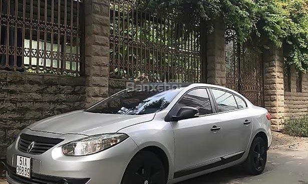 Bán xe Renault Fluence 2012, màu bạc, nhập khẩu xe gia đình, giá chỉ 460 triệu
