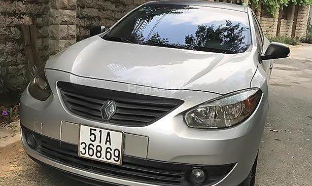 Bán ô tô Renault Fluence đời 2012, màu bạc, xe nhập xe gia đình, giá 460tr