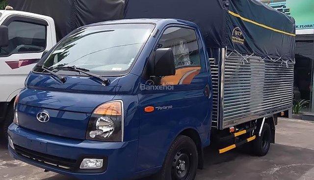 Bán Hyundai Porter H150 2018, màu xanh lam, 365tr