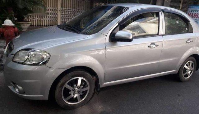 Cần bán lại xe Chevrolet Aveo đời 2012, màu bạc