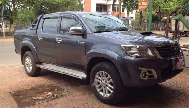 Bán Toyota Hilux 2014, màu xanh lam, xe nhập