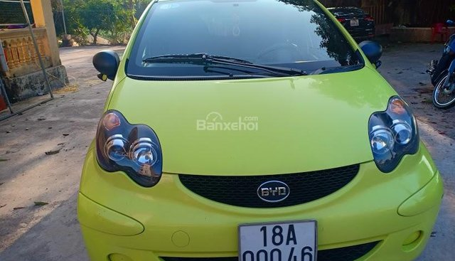 Bán xe BYD F0 FO đời 2010, màu vàng chanh như ảnh, nhập khẩu nguyên chiếc