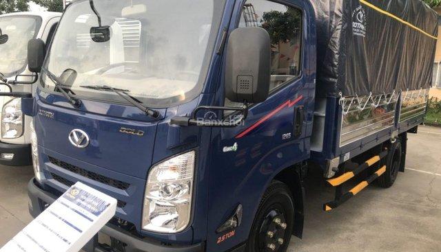 Bán xe tải 2,5 tấn - dưới 5 tấn IZ65 Gold đời 2018, màu xanh lục, xe nhập