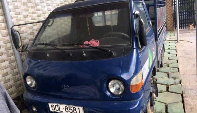 Bán ô tô Hyundai Porter đời 2002, màu xanh lam, nhập khẩu, giá tốt
