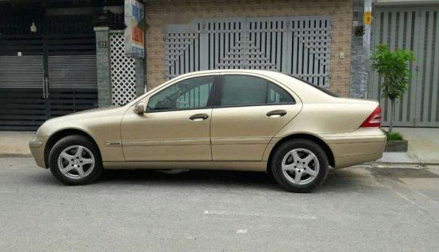 Cần bán Mercedes C180 năm 2002, nhập khẩu như mới