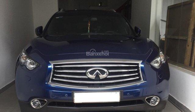 Bán xe Infiniti QX70 2015 màu xanh nhập Mỹ nhà sử dụng