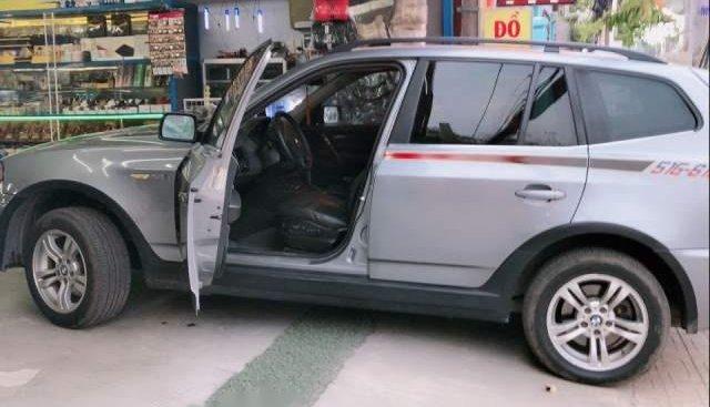 Bán BMW X3 năm sản xuất 2008, màu bạc, nhập khẩu