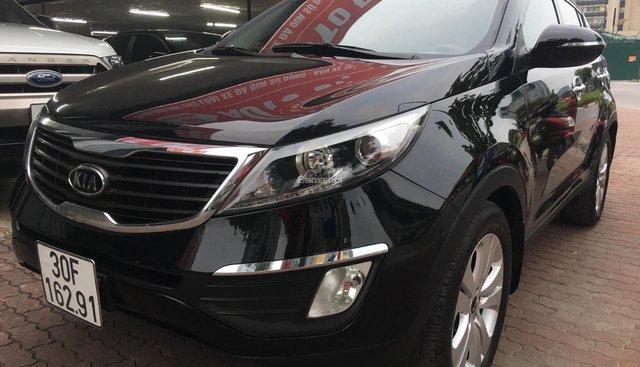 Bán Kia Sportage 2.0 AT sản xuất năm 2011, màu đen, nhập khẩu nguyên chiếc