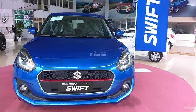 Bán Suzuki Swift GL sản xuất năm 2018, màu xanh, nhập khẩu