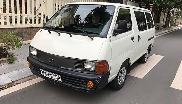 Bán gấp Toyota Liteace 1.8 MT sản xuất năm 1992, màu trắng, nhập khẩu
