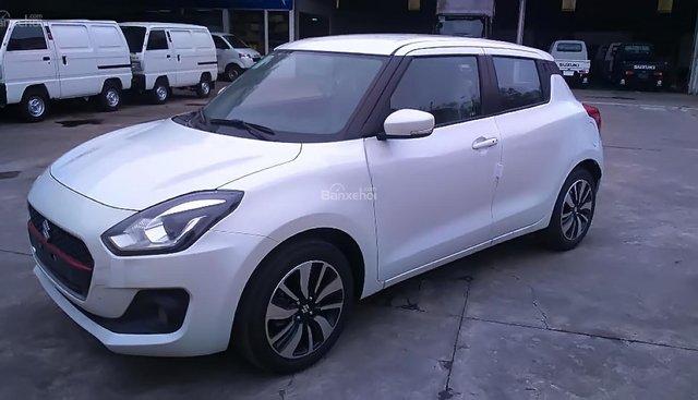 Bán Suzuki Swift GLX 1.2 AT năm sản xuất 2018, màu trắng, nhập khẩu