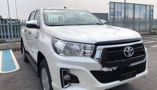 Bán Toyota Hilux đời 2018, màu trắng, nhập khẩu Thái, giá 695tr