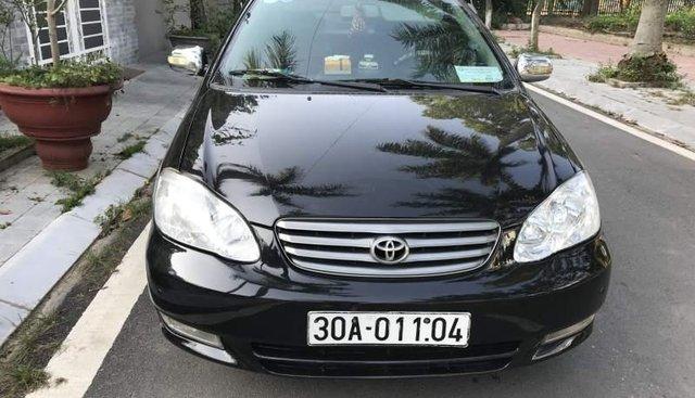 Cần bán Toyota Corolla sản xuất năm 2003, màu đen, 175 triệu