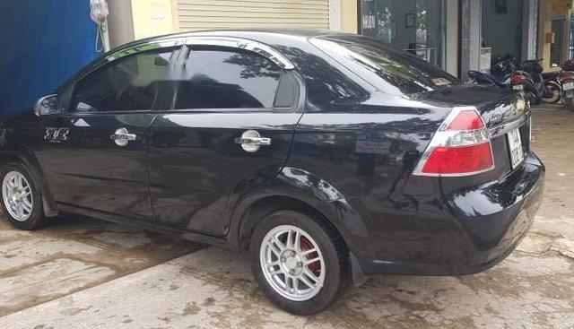 Bán Chevrolet Aveo năm sản xuất 2012, màu đen, nhập khẩu