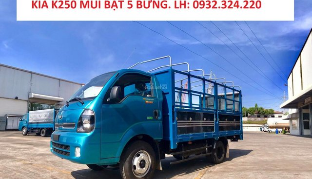 Bán xe tải KIA K250 tải 2,49 tấn có xe giao ngay. Hỗ trợ trả góp lãi suất thấp