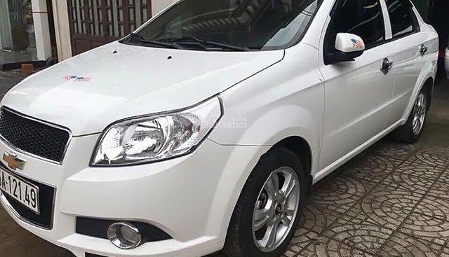 Bán xe Chevrolet Aveo LT 1.4 MT 2018, màu trắng