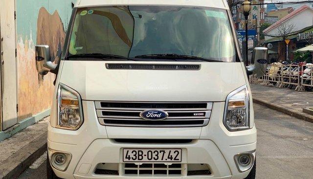 Bán Ford Transit Limosine Pretident năm 2015, màu trắng đầy đủ tiện nghi