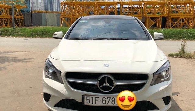 Chính chủ bán Mercedes CLA 200 2016, màu trắng, biển đẹp