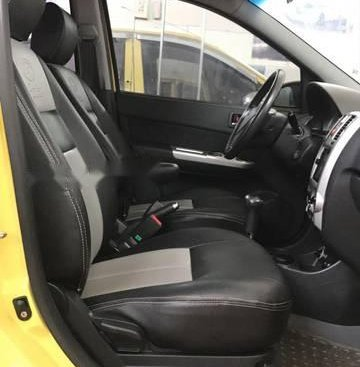 Cần bán lại xe Hyundai Getz sản xuất năm 2010, màu vàng, nhập khẩu nguyên chiếc số tự động, giá chỉ 279 triệu