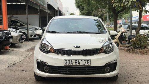 Bán xe Kia Rio 1.4 AT đời 2015, màu trắng