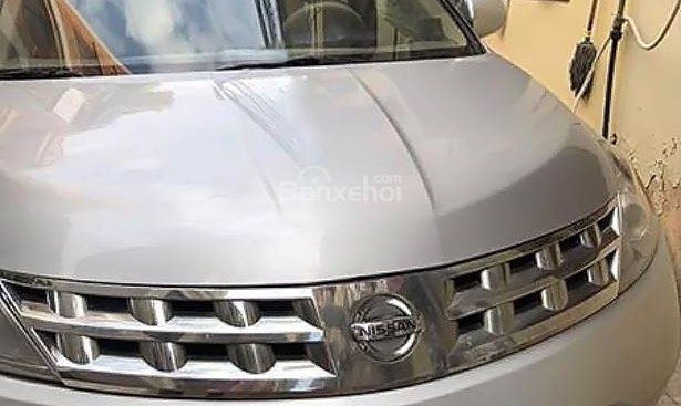 Bán Nissan Murano SL 3.5 AWD đời 2005, màu bạc, nhập khẩu