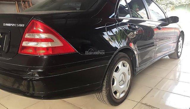 Bán Mercedes C180 sản xuất năm 2004, màu đen, giá tốt