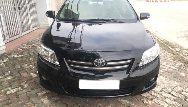 Cần bán Toyota Corolla altis 1.8 G đời 2009, màu đen. Hàng siêu mới